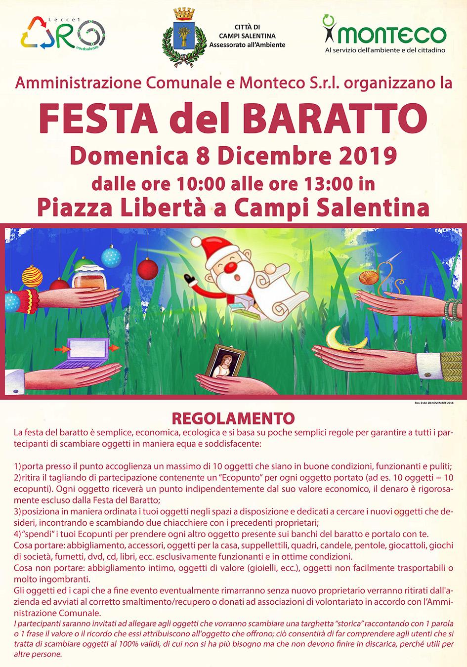 La Festa del Baratto a Campi Salentina