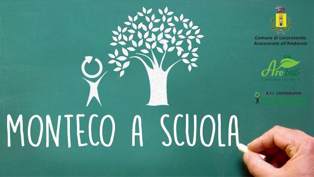 LOCOROTONDO: Monteco a Scuola